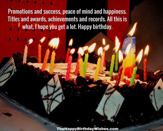 Fabulous Images For Birthday Wishes With Sayings E-Card For My Boss E7`
