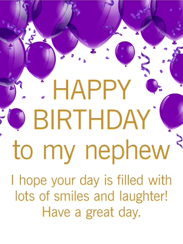 Fantastic Brilliant Birthday Greeting Card For Best Nephew_E-Card_156jf4jf6uri7s