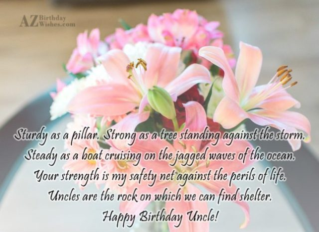 Fragrance Flowers With Birthday Quotes For Kindness Uncle Nicewishes