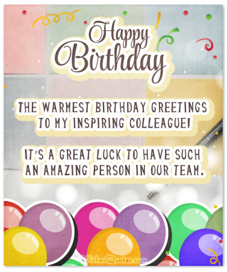 Glorious Birthday Wishes Greetings E Card For Best Employee