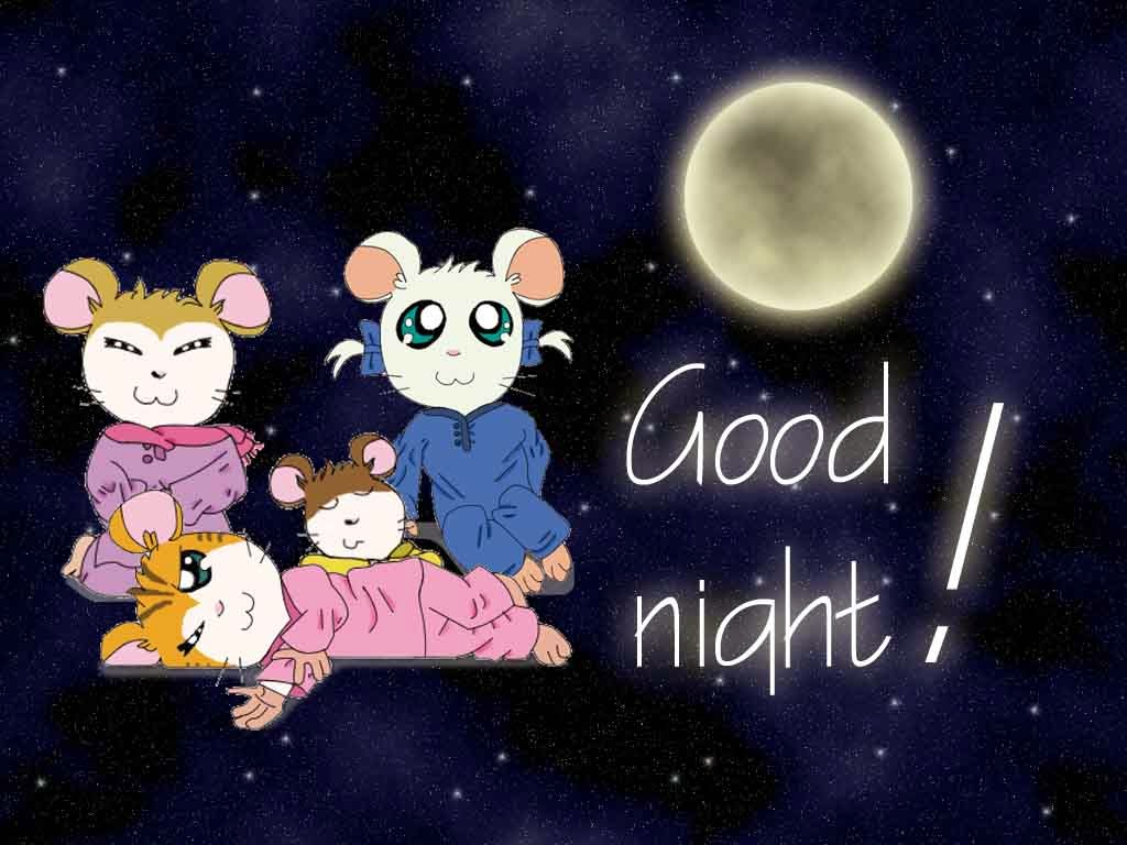 Good night facebook friends