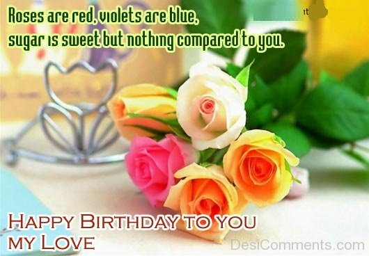 Gorgeous Birthday Wishes With Sayings E-Card For My Life 7sno9s