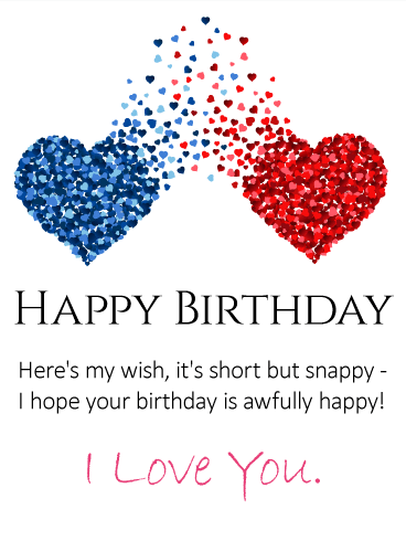 Magnificent Birthday Wishes E Card For My Precious Husband
