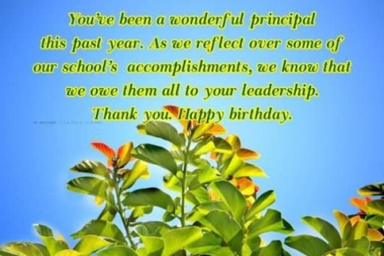 Awesome Birthday Message With Best Wishes For Principal Nicewishes Happy Birthday Wishes To Principal
