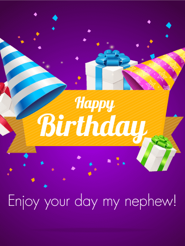 Graceful Brilliant Birthday Greeting Card For Best Nephew_E-Card_156jf4jf6uri7s
