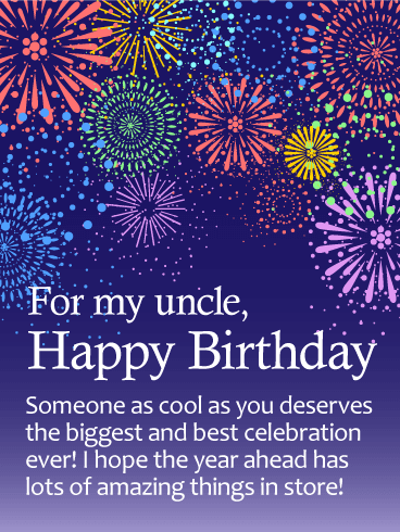 Great Birthday Enjoyment Greeting E-Card