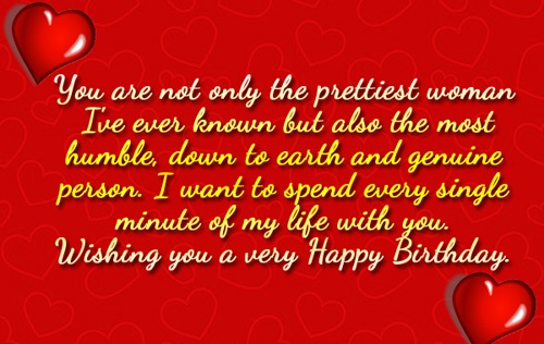 Great Birthday Message For My Love