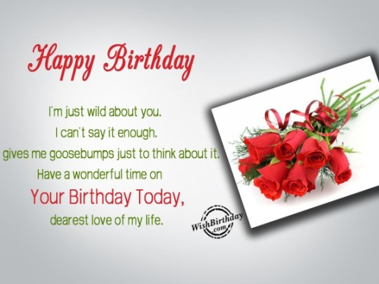 Great Images For Birthday Wishes With Sayings E-Card For My Life fjkdf