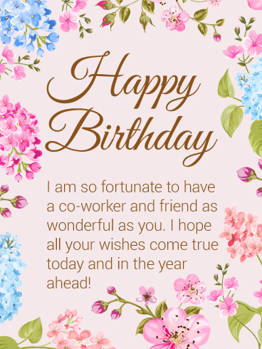 Great Times Birthday Wishes Greetings E Card For Best Employee