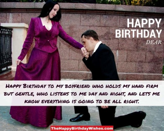 Handsome Boyfirend Birthday Message With Sharing Love Quotes