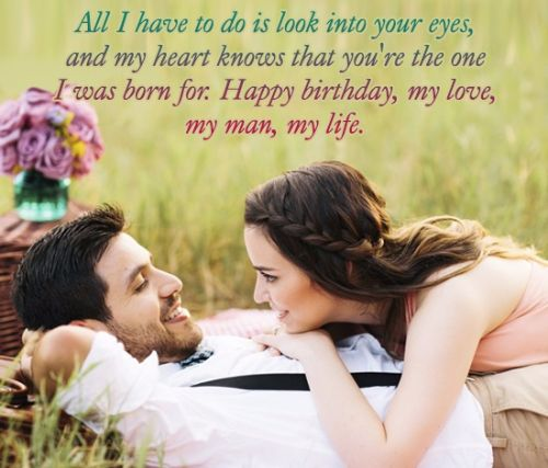 Handsome Quotes Birthday Wishes E-Card For Boyfriend _54swg4d7s