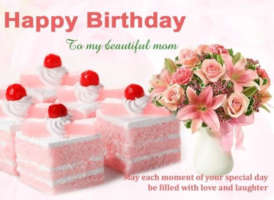 Happy Birthday Greetings Flowers For My Mom