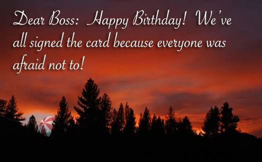 Happy Images For Birthday Wishes With Sayings E-Card For My Boss E7