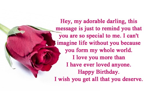 Have A Great Boyfriend Love Ever Flowers Birthday Greetings DS456_7s