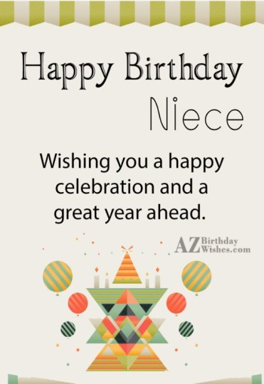 Have A Great Niece Birthday With Greetings