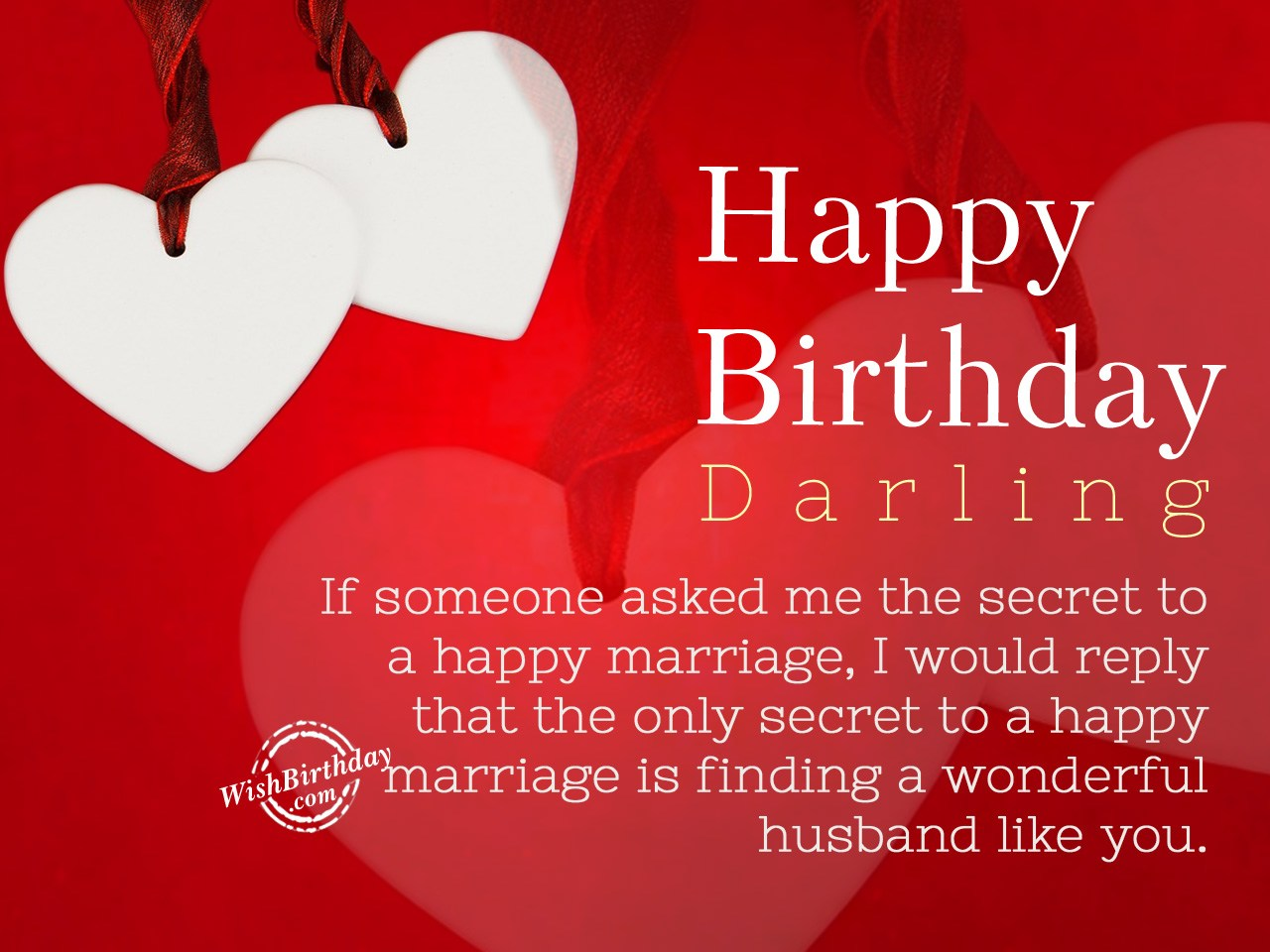 Birthday Greetings To A Wife Images Greetings Card Design Simple