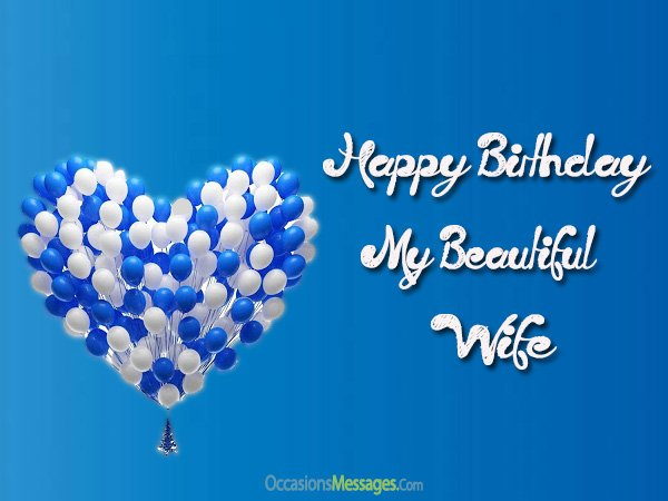 the 55 romantic birthday wishes for wife wishesgreeting - 600×450