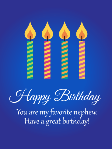 Incredible Brilliant Birthday Greeting Card For Best Nephew_E-Card_156jf4jf6uri7s