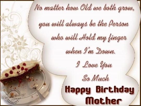 Incredible Mom Birthday Wishes E-Card Quotes