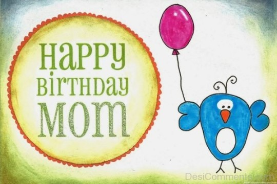 Incredible Mom Birthday wishes eCard