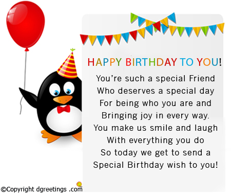 Joyful Birthday Wishes With Message For Happiness Friend