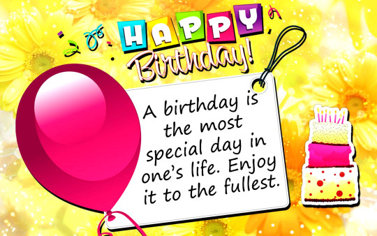 Joyful birthday Wishes With Quotes 5s