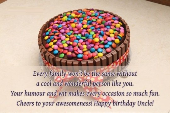 Kindness Uncle Birthday Wishes Quotes 7up