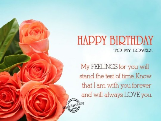 Love Flowers Birthday Wishes E-Card For Boyfriend _54swg4d7s