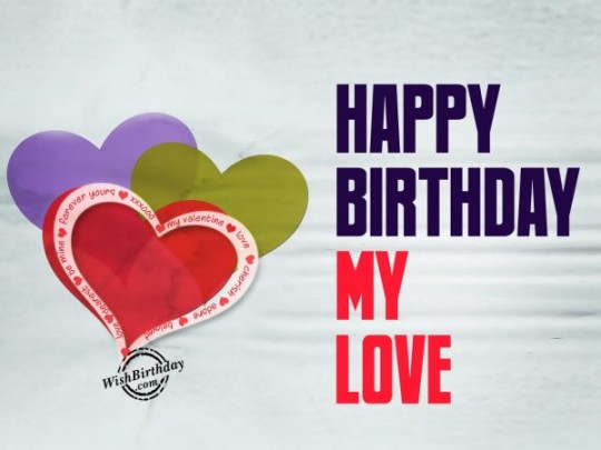 Love Greetings Card With Lots Of Happiness For Birthday BoyFriend