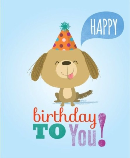 Lovely Baby Boy Birthday Wishes With Card for You