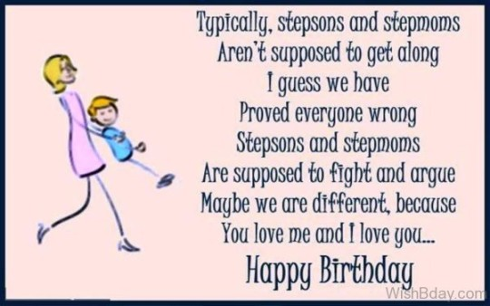 Lovely Birthday Greeting eCard for Stepson