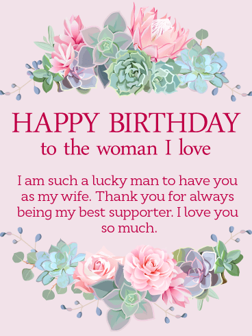 Lovely Birthday Wishes With Greetings For My Wife 2 happy birthday wishes with greetings message for my radiant wife