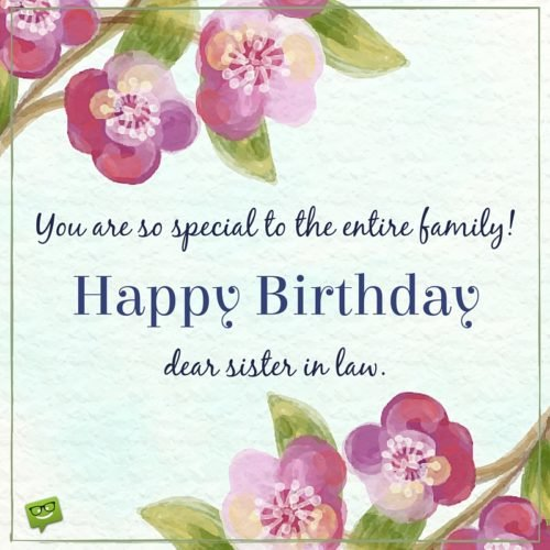 Lovely Brother In Law Birthday Wishes E-Card With Flowers