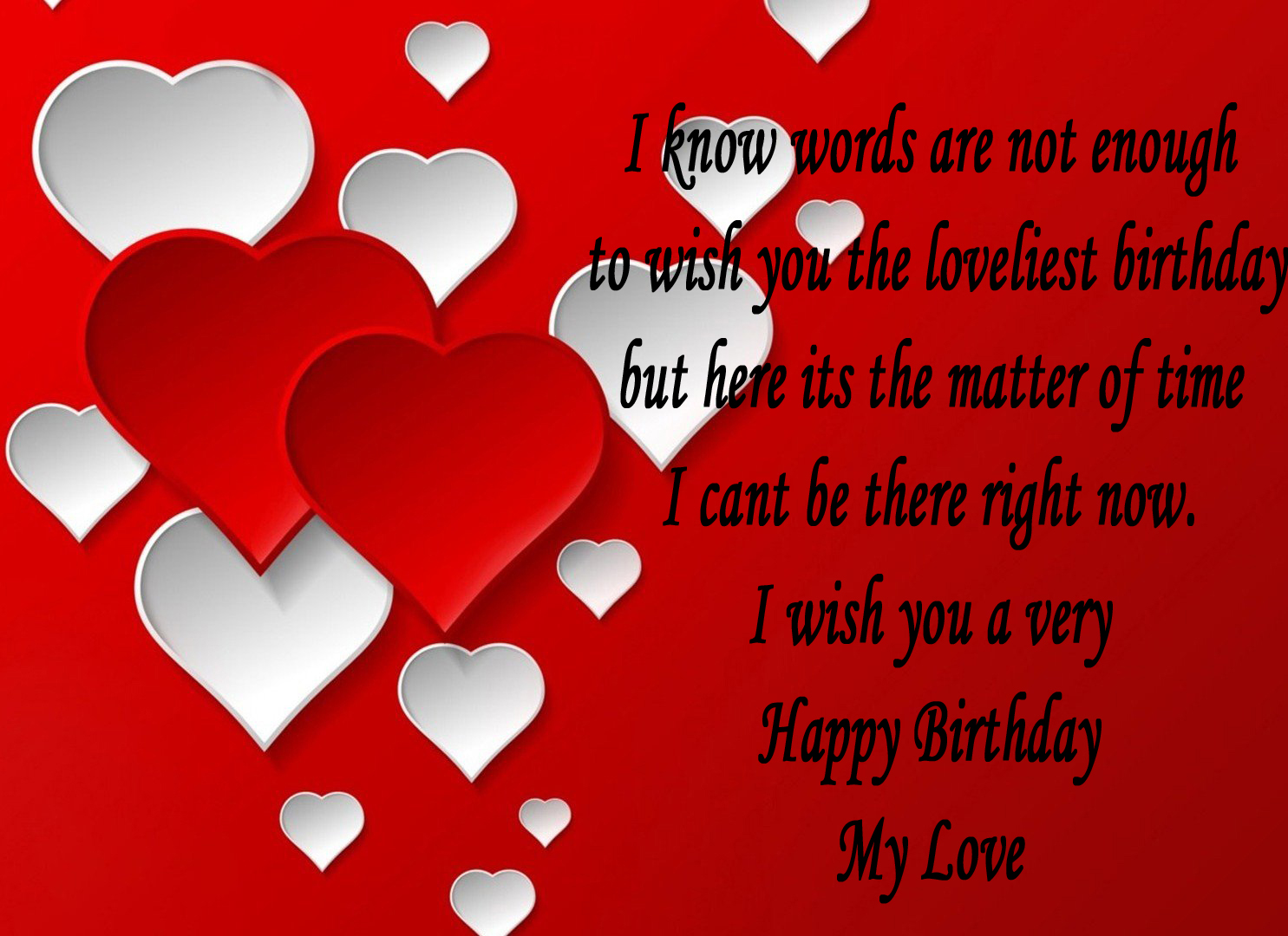 Best Birthday Greeting Card With Quotes For Lover Nice Wishes