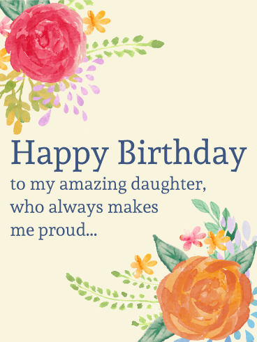 Birthday wishes for daughter ecards images page 7 magnificent daughter birthday wishing message e card bookmarktalkfo Images