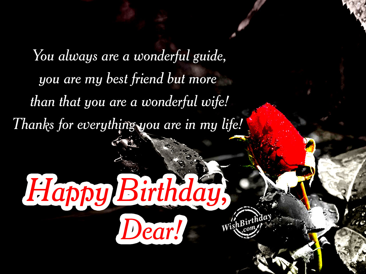 Birthday Wishes For Wife Happy Birthday Quotes Messages Ecards