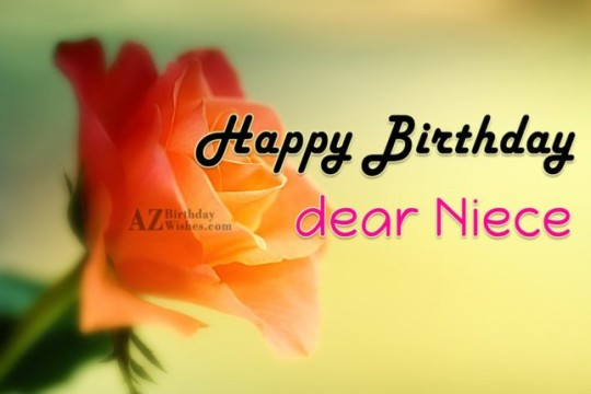Marvelous Image For Niece Birthday Wishes With Well Wishes 42