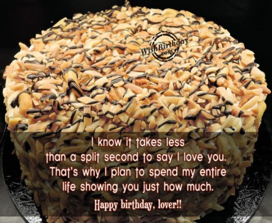 Marvelous Images For Birthday Wishes With Sayings E-Card For My Life