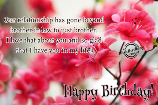 Marvelous Quotes With Best Bro Birthday Image