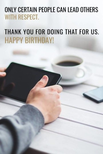 Mind Blowing Images For Birthday Wishes With Sayings E-Card For My Boss E7
