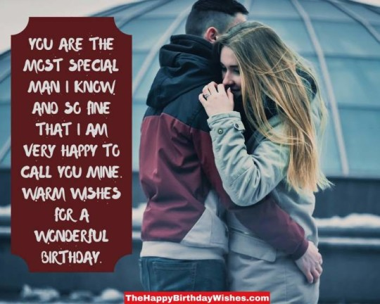 Nice Birthday Wishes Image For Loving Couple With Boyfriend Birthday
