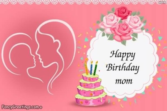 Outstanding Image For Best Mom Birthday Wishes With Creamy Cake