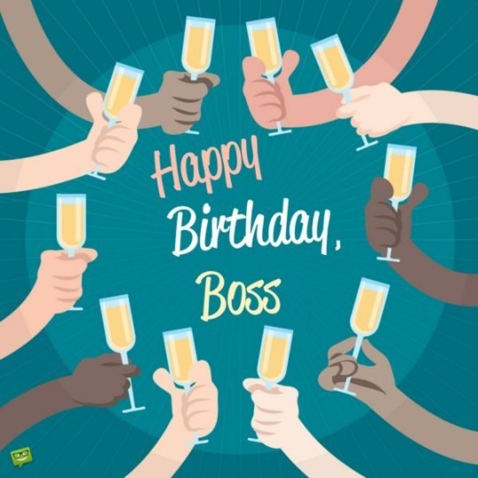 Outstanding Images For Birthday Wishes With Sayings E-Card For My Boss E7