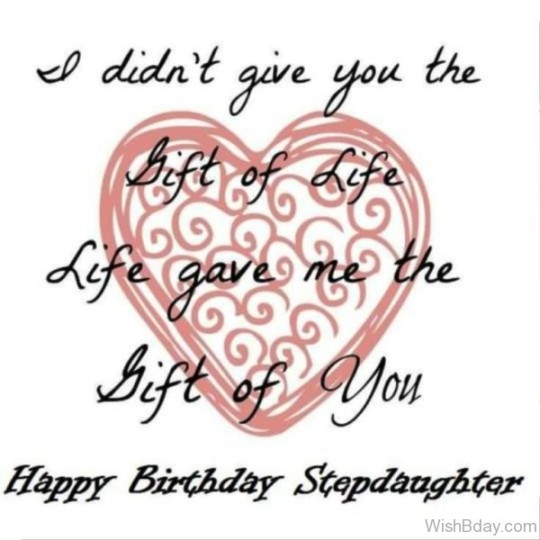 Perfect Birthday Wishes Card For Stepdaughter