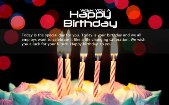 Phenomenal Images For Birthday Wishes With Sayings E-Card For My Boss E7