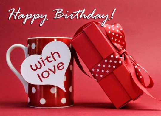Red gift Birthday Wishes With Sayings E-Card For My Life 7sno9s