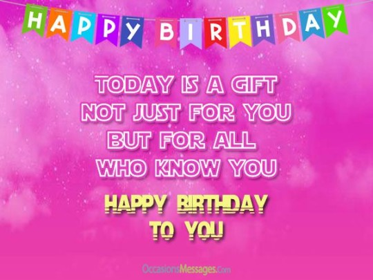 Special Birthday Wishes With Greetings Message E-Card s7