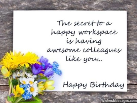 Stupendous Birthday Image For Colleague