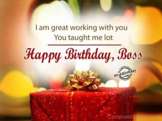 Stupendous Images For Birthday Wishes With Sayings E-Card For My Boss E7