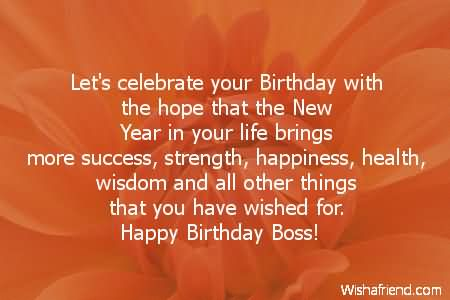 Brilliant Birthday Wishes Quotes For Boss Nicewishes Happy Birthday Wisdom Wishes